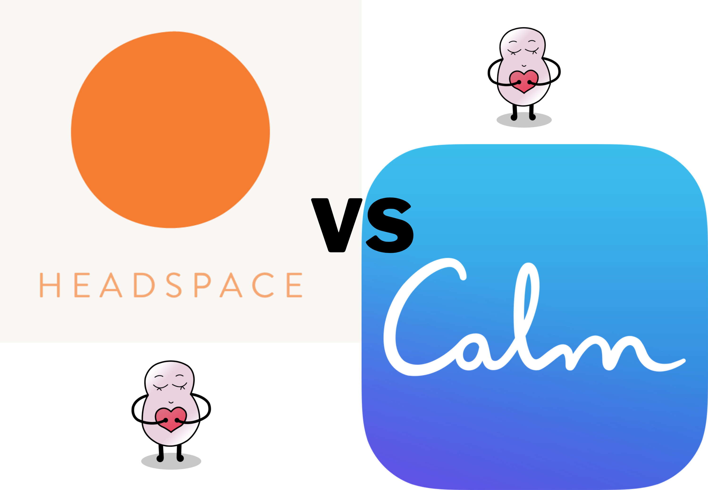 headspace vs calm which meditation app is best wellbean blog headspace vs calm which meditation app